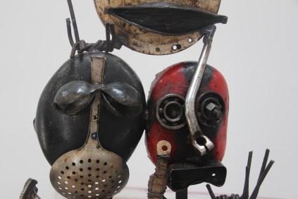 Exposition Signes de Pouvoir de Charly d'Almédia à la LouiSimone Guirandou Gallery dès le 2 mars 2017