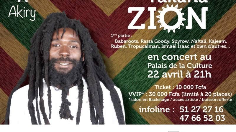 Takana Zion en concert live ce samedi 22 avril 2017 à Abidjan (RCI)