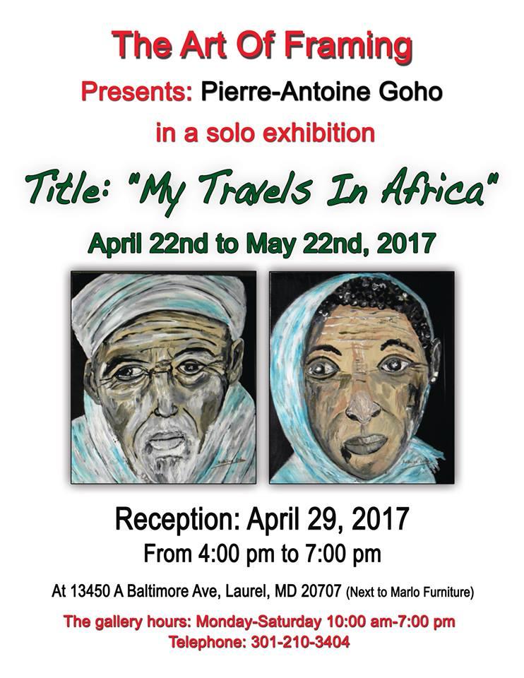 My Travels in Africa, une exposition de Pierre-Antoine Goho