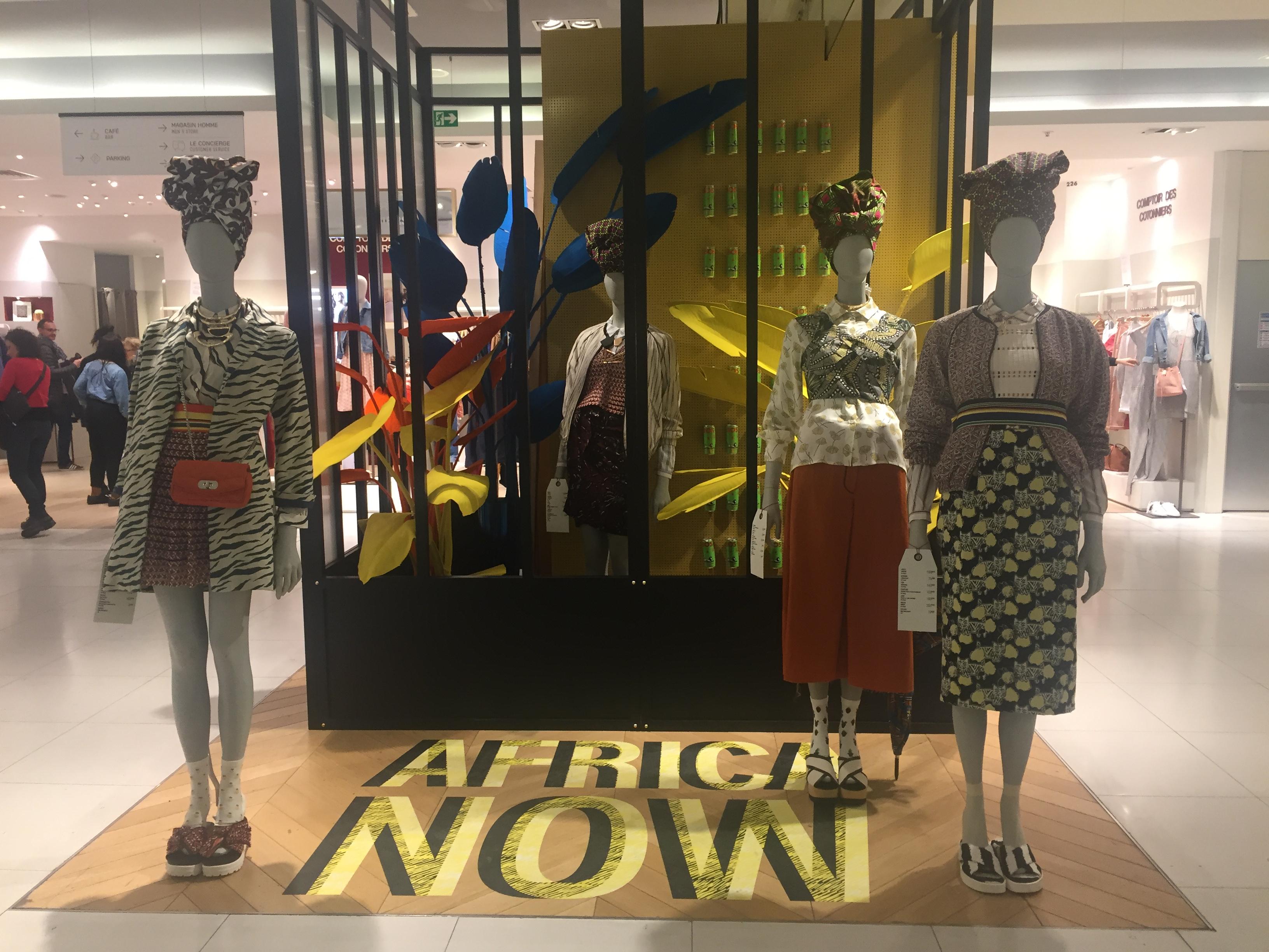 [Africa Now] : Une nouvelle campagne publicitaire des Galeries Lafayette visant à célébrer l'énergie de la création sur le continent africain