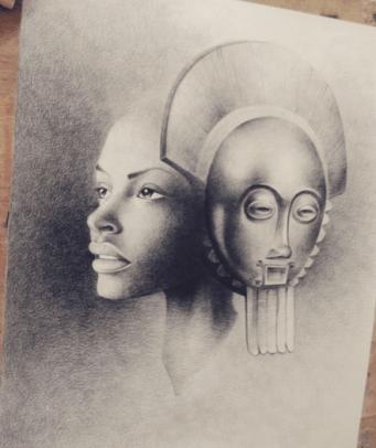 Expo Art & Us - Traoré Hamed