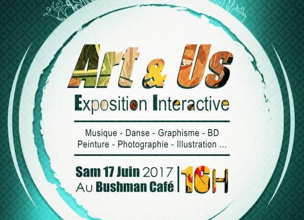 Art & Us – Exposition Interactive le 17 juin 2017 dès 16h au Bushman Café (4)