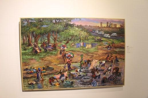Expo ' No Border ' jusqu'au 1er juillet à la LouiSimone Guirandou Gallery