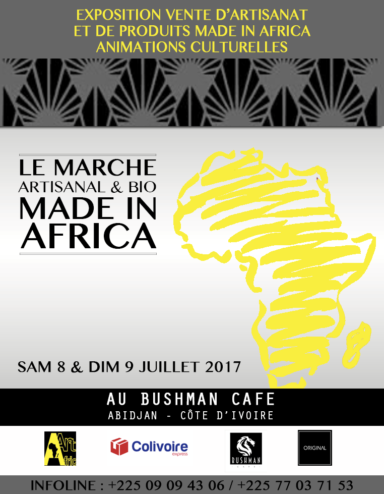 Le Marché Artisanal et Bio – Made in Africa : Série 6 des exposants qui seront présents !