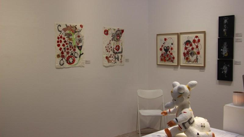 Retour sur l'exposition de Ernest Dükü au Salon Zürcher Africa