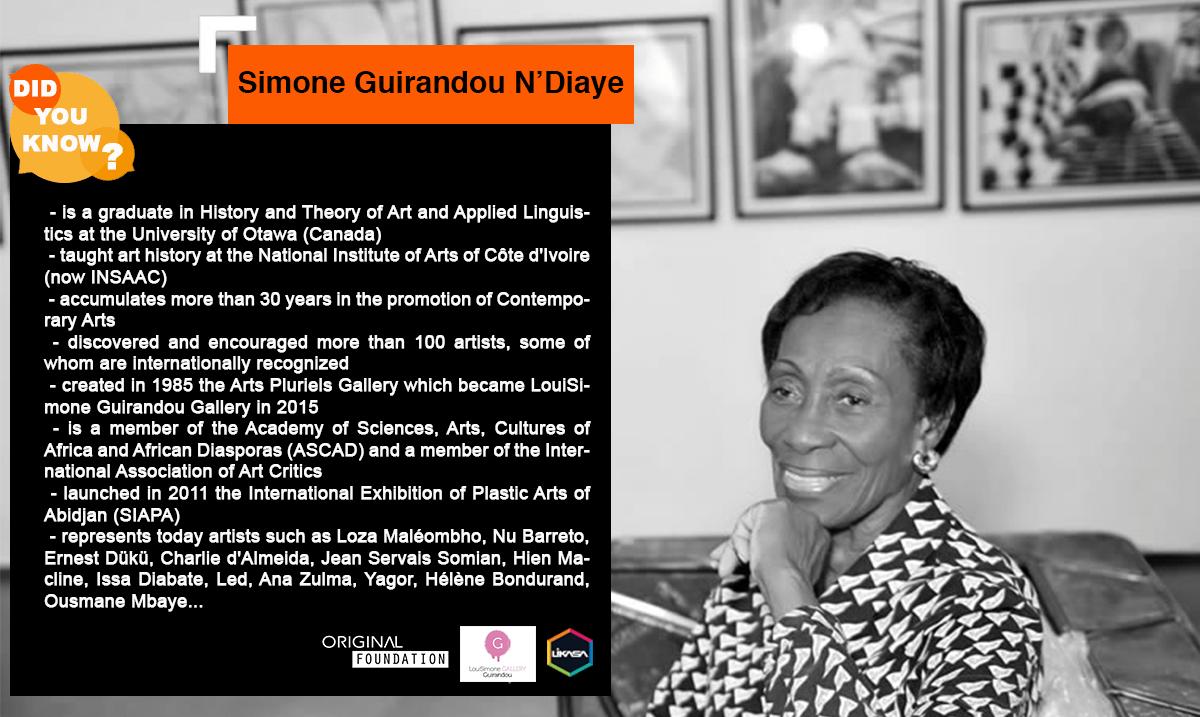 Did you know? :  Let's discover Simone Guirandou N'Diaye