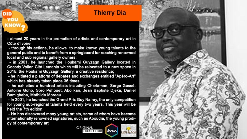 Did you know? : Let's discover Thierry Dia