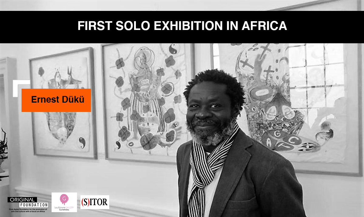 Ernest Dükü, one of the most well-known ivorian artists around the world