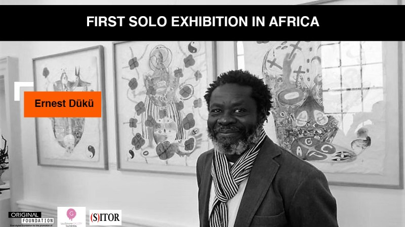 Ernest Dükü, one of the most well-known ivorian artists around the world