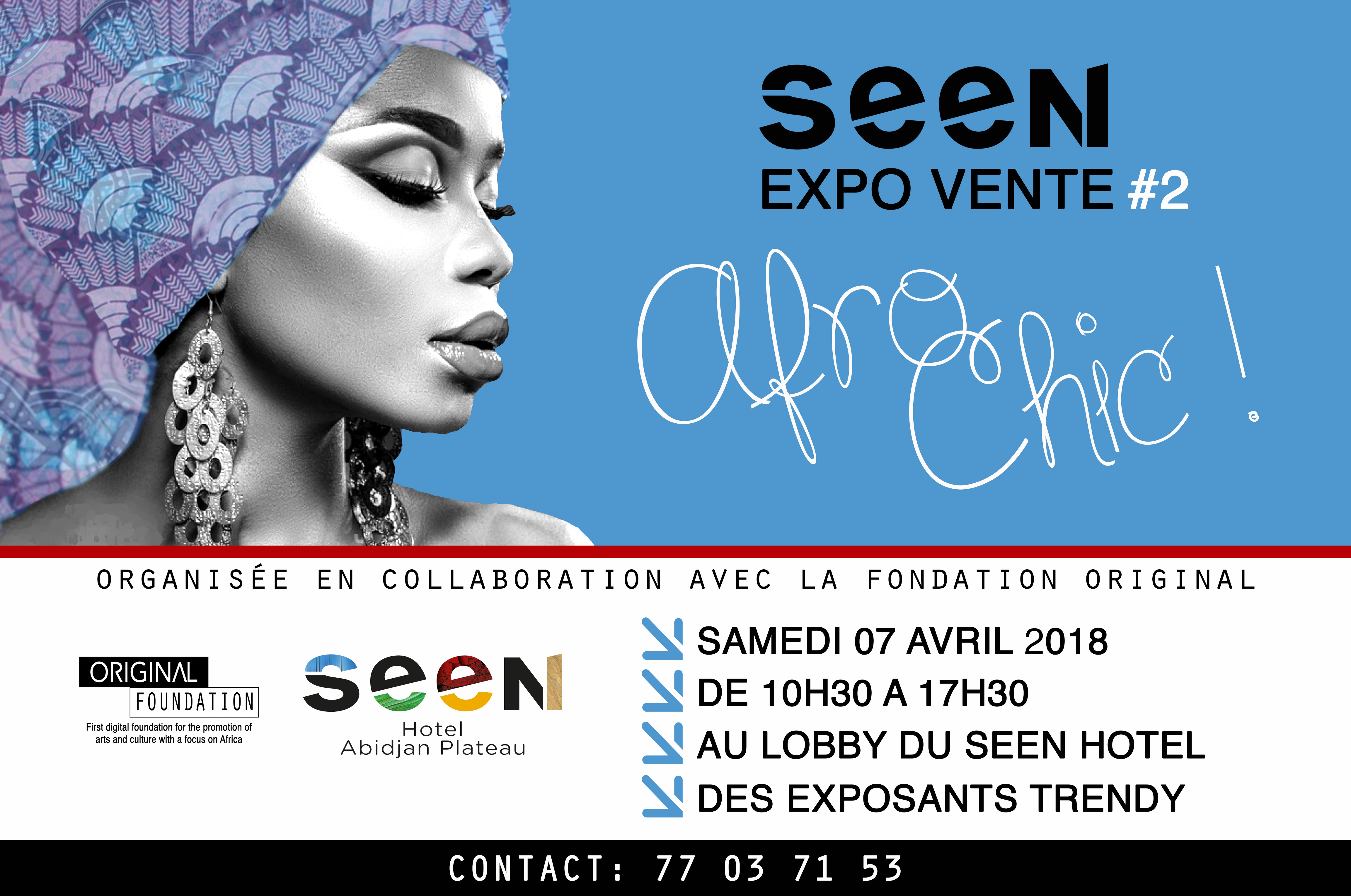 5 raisons de venir à la Seen Expo Vente Afro Chic #2