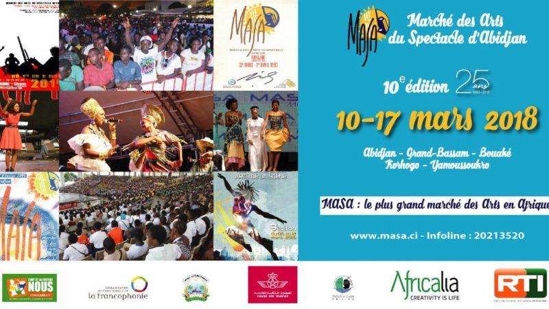 10 choses à savoir sur la 10ème édition du MASA qui se tiendra du 10 au 17 mars 2018 en Côte d'Ivoire