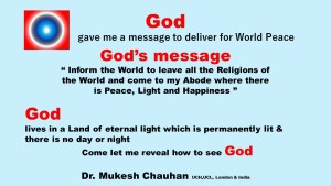 God's message