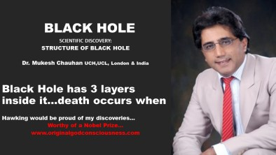 Black Hole has 3 layers inside it