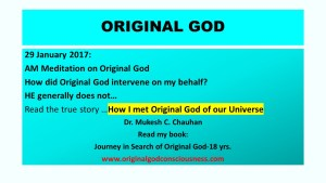 Original God the meeting
