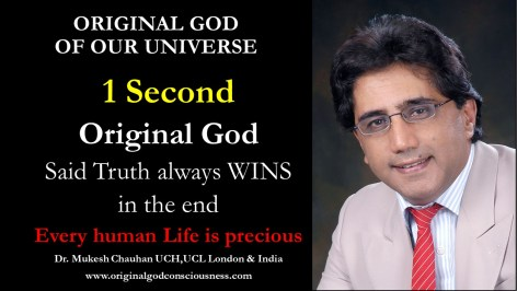 Original God says Truth always wins in the end