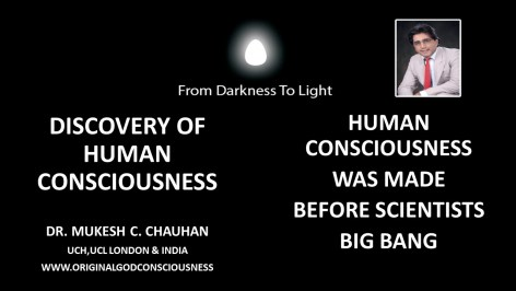 Discovery of human consciousness