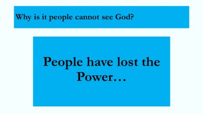 Humans have No Power