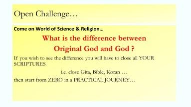Original God and God