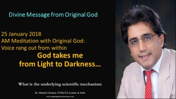 Original God takes me from Light to Darkness