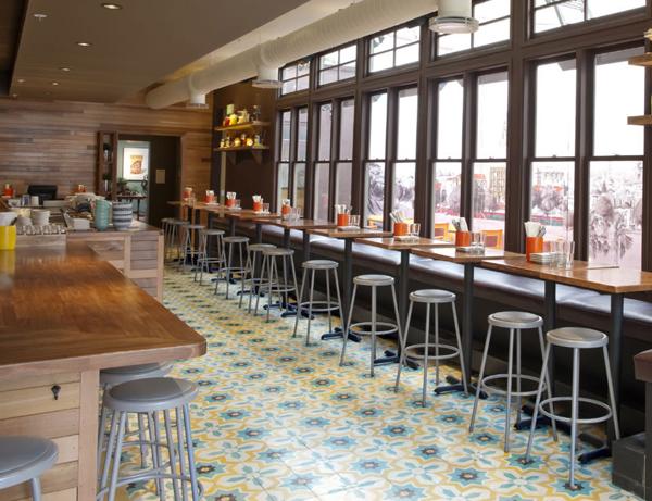 Cement Tiles Tacolicious Restaurant