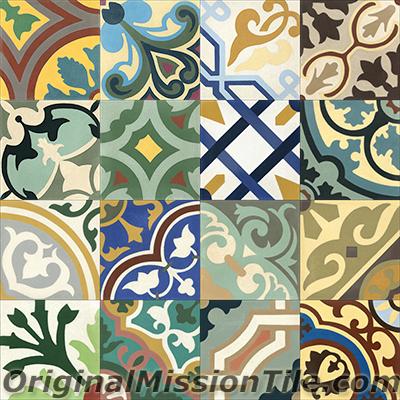 Handmade Cement Tiles