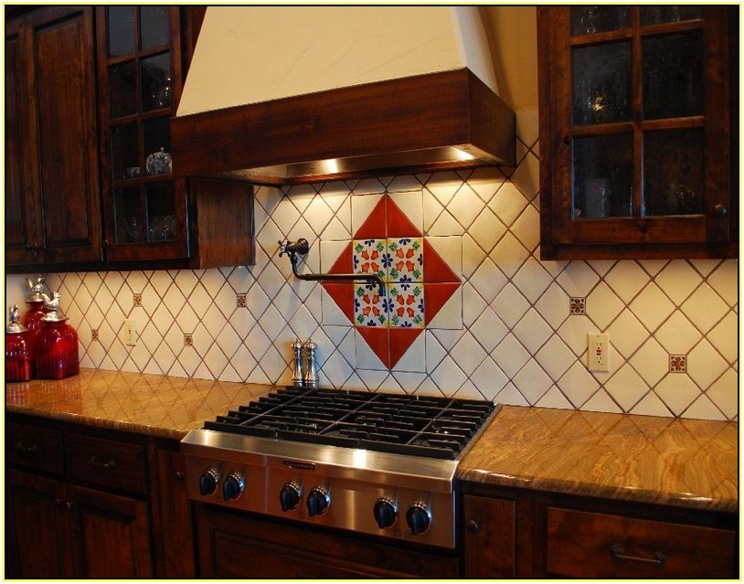 mexican kitchen tiles the mexican tile backsplash to pimp up your homes 4114