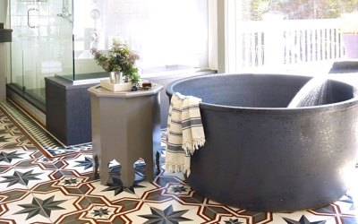 Top Moroccan Cement Tile Styles for Bathroom Remodelings