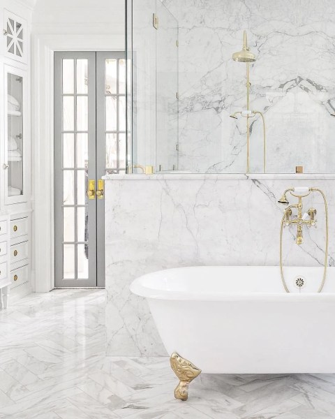 Victorian Marble Bathroom