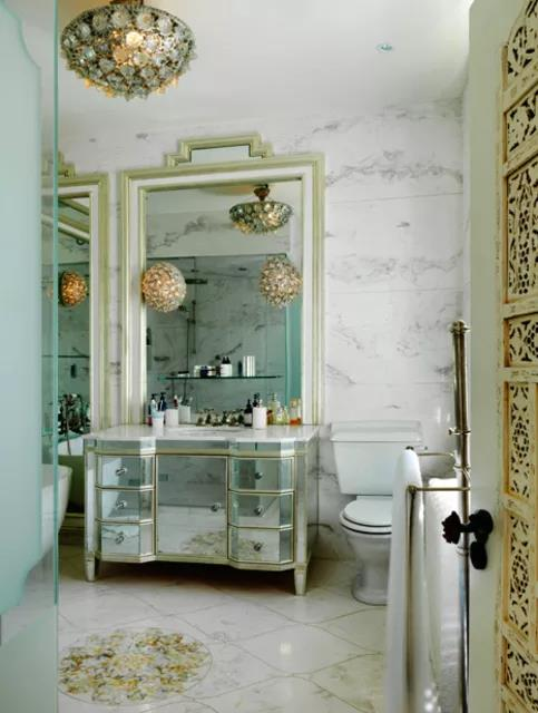 Glam Marble Bathroom