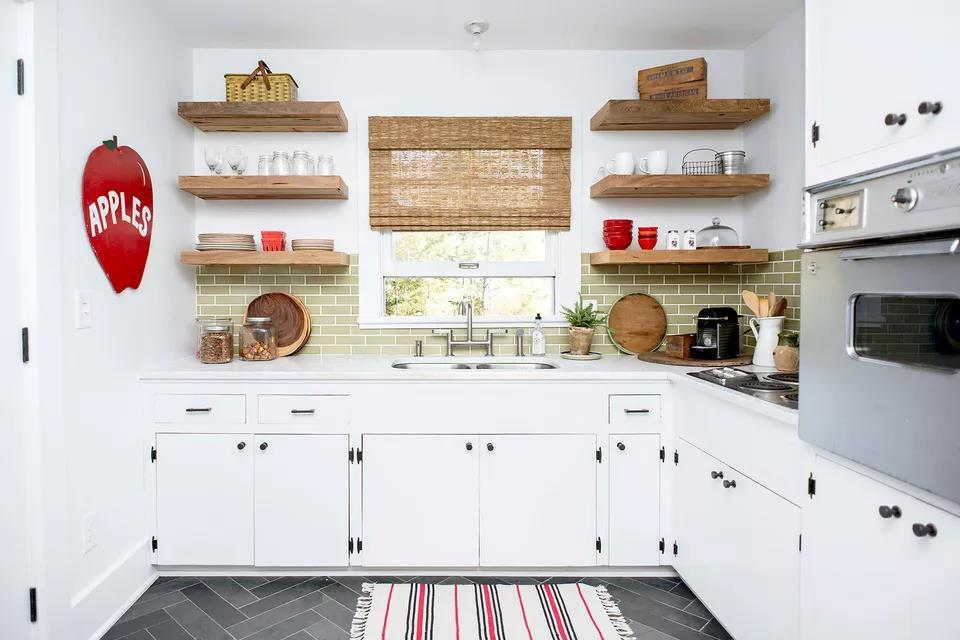 15 Modern and Stylish White Kitchen Tiles