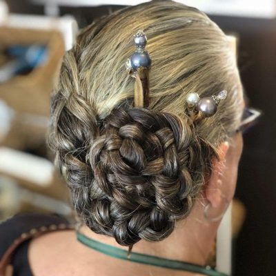At the Original Moxie Salon, we do updos for special events like prom, wedding, party, homecoming, bridesmaids, and mother of the bride.