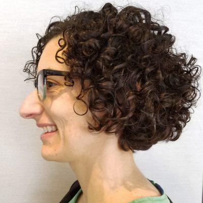 Short Curly Hair CutAC
