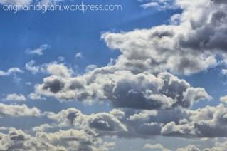 Slavonski Brod, oblaci.