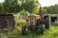 Traktor u Ježeviku.