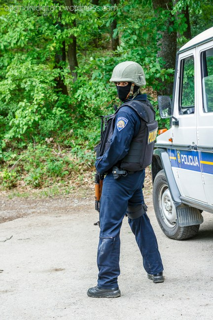 Akcija Interventne jedinice policije.