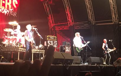 Live Review: Stiff Little Fingers at Custom House Square