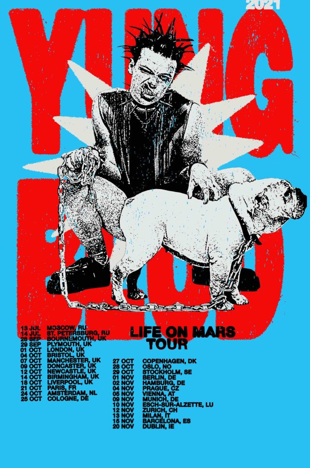 Yungblud announces autumn 2021 'Life On Mars' tour - OriginalRock.net