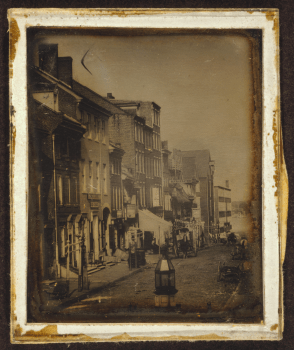 Elphrey Heritage's Philadelphia, ca. 1842–1845. Photograph by William G. Mason, Library of Congress Prints and Photographs Division, LC-USZC4-9390.
