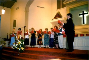 With One Accord concert at First Baptist Church, Tucker, GA.
