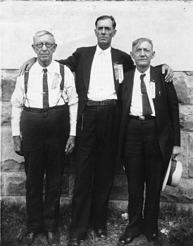 "Seaborn McDaniel ""S. M."" Denson, Sidney Whitfield ""S. Whitt"" Denson, and Thomas Jackson ""T. J."" Denson."