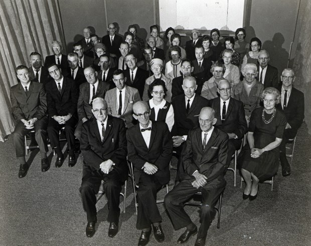 Toney Smith (second row, second from left), was among the singers featured on the first studio recording of Sacred Harp singing published by the Sacred Harp Publishing Company in 1965.