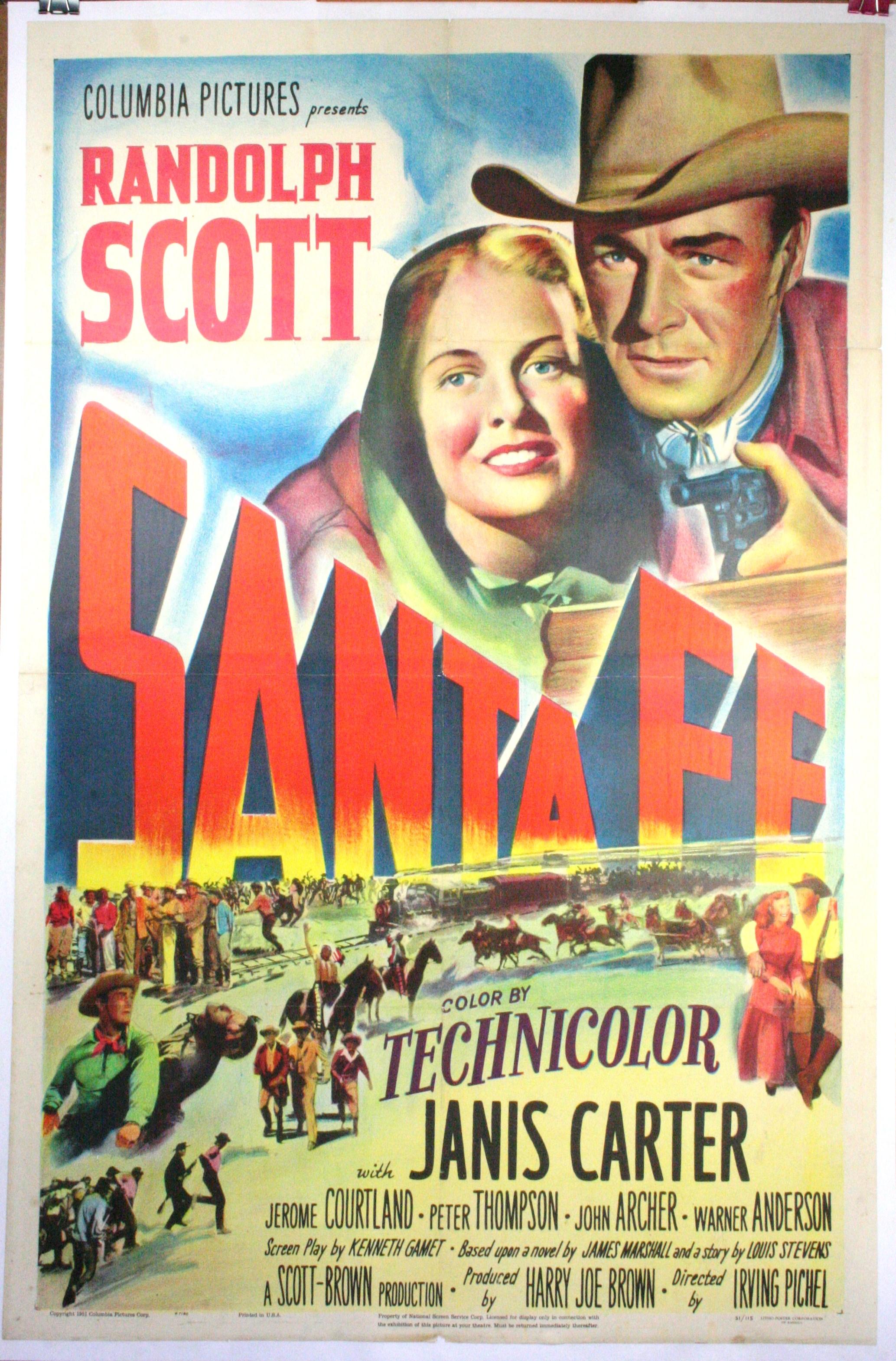 Poster do filme Santa Fé