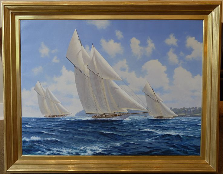 Marine Paintings By Adrian C RigbyMarine ArtMarine