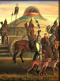 Yurts in History & Art