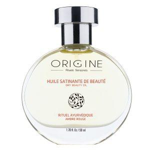 huile ambre bio naturel corps Origine spa