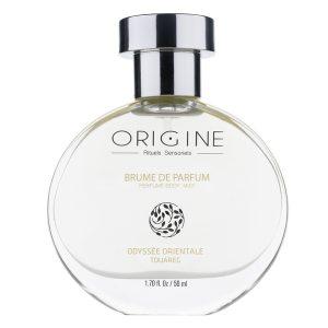 brume parfum corps bio naturel corps Origine spa