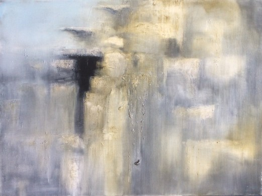 """Donagh Carey """"Shelter"""", cm 130 x 180, Oil on canvas"""