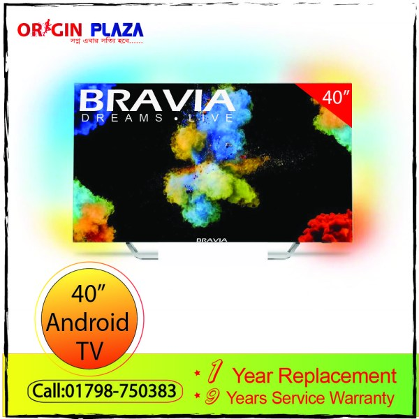 """Bravia android40"""" TV"""