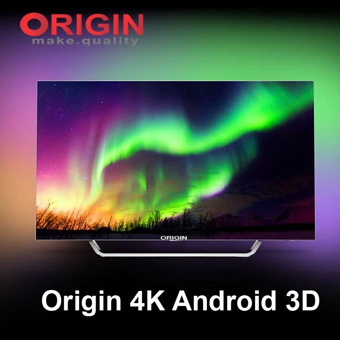 Origin 4K Android 3D tv price in bd