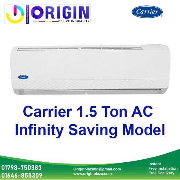 Carrier 1.5 Ton AC Infinity Saving
